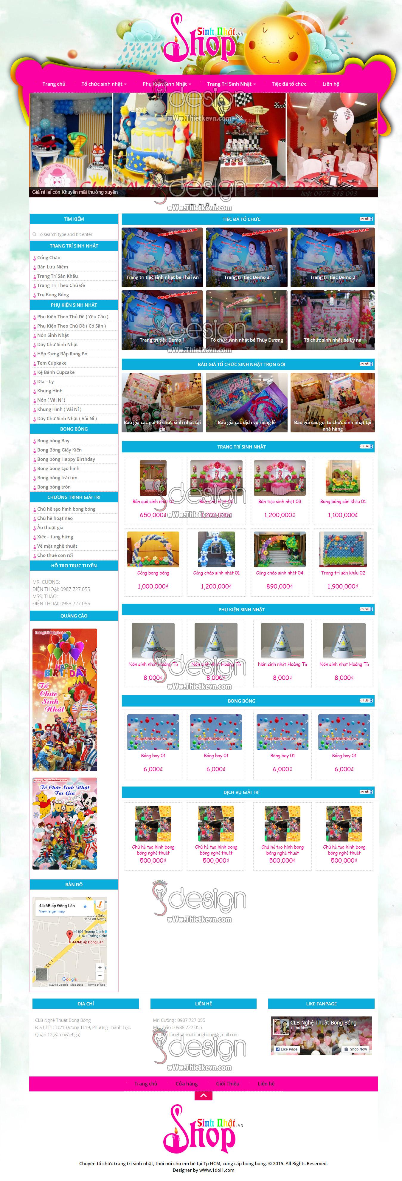 thiet ke web gia re1 Thiết kế website bong bóng giá rẻ