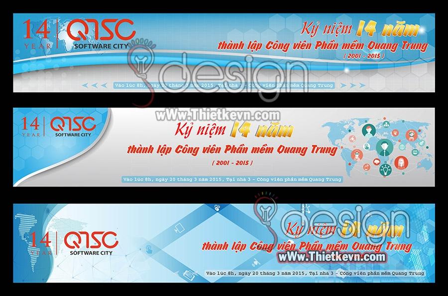 GMIT.46101 Nơi thiết kế băng rôn quảng cáo hội chợ, triển lãm giá rẻ