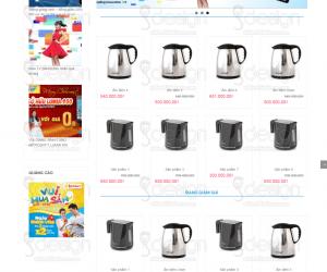 Nơi thiết kế website bán hàng, shop giá rẻ tại hcm