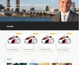 Thiết kế website công ty, tin tức, có trang bán hàng giá rẻ