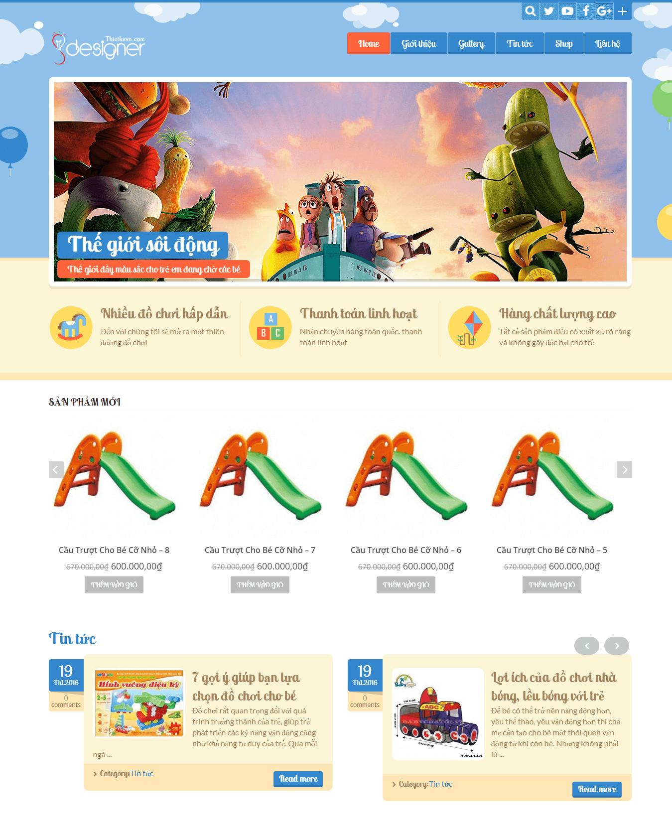 Công ty thiết kế website bán hàng giá rẻ