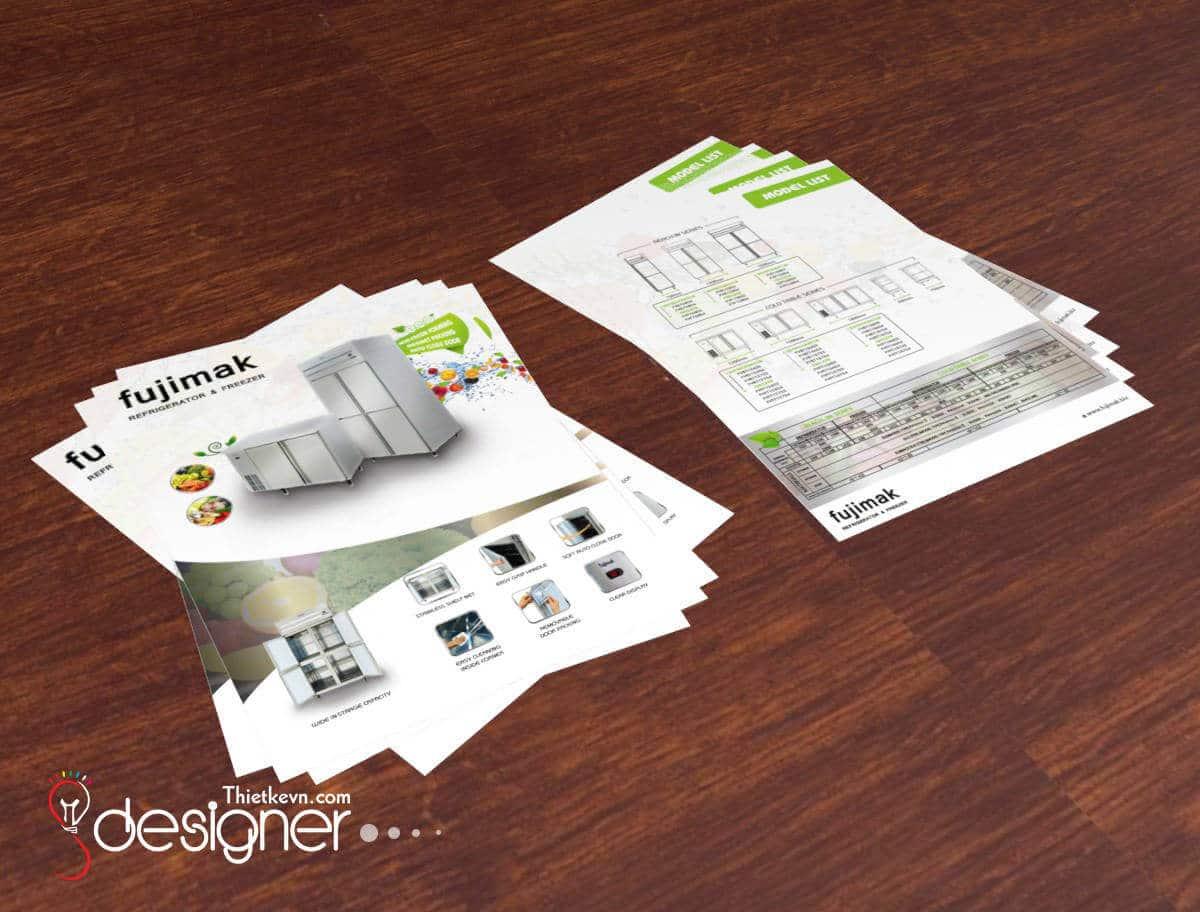 In ấn, thiết kế tờ rơi quảng cáo