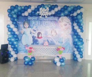 Nhận thiết kế backdrop sinh nhật cho bé và gia đình