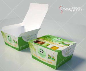 Thiết kế bao bì sản phẩm, nhãn mác hộp, ly giấy giá rẻ.