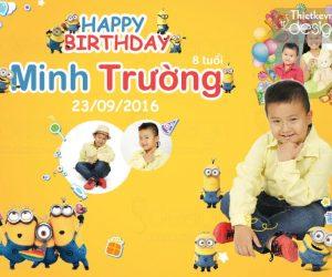 Thiết kế banner sinh nhật cho bé chuyên nghiệp tại hcm và toàn quốc