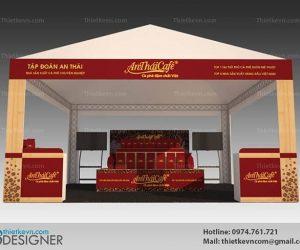 Thiết kế gian hàng hội chợ tham gia sự kiện triển lãm chuyên nghiệp