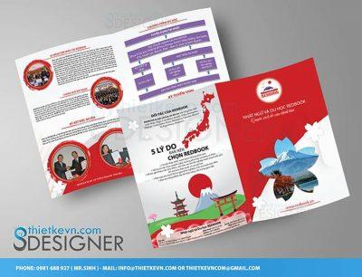 thiết kế tờ rơi quảng cáo