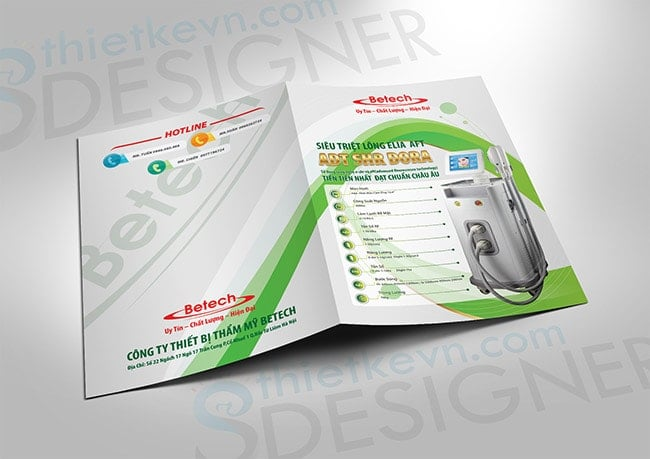 Thiết kế catalogue kẹp file