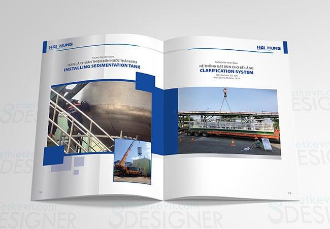 thiet ke catalogue gia bao nhieu Thiết kế Catalogue giá rẻ công ty cơ khí tại TPHCM, Hà Nội