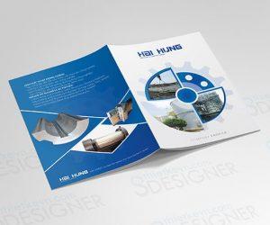 Thiết kế Catalogue giá rẻ công ty cơ khí tại TPHCM, Hà Nội
