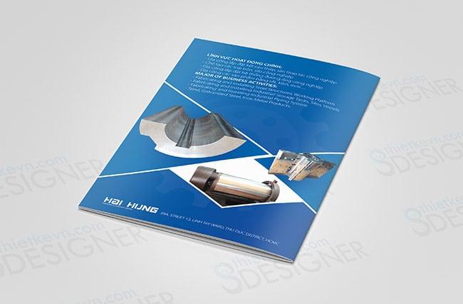 thiet ke catalogue online Thiết kế Catalogue giá rẻ công ty cơ khí tại TPHCM, Hà Nội