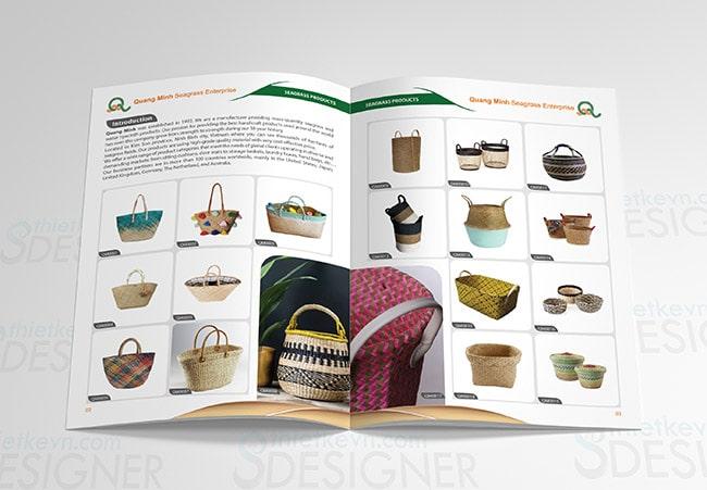 thiet ke catalogue san pham dep Thiết kế catalogue sản phẩm công ty vì sao cần phải đẹp