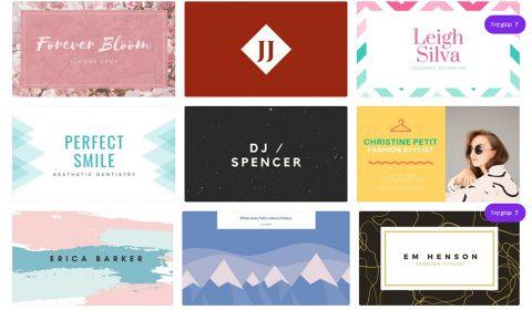 mau card visit dep 02 Thiết kế card visit online, in card visit giá rẻ công ty