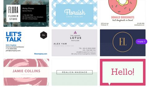 mau card visit dep 04 Thiết kế card visit online, in card visit giá rẻ công ty