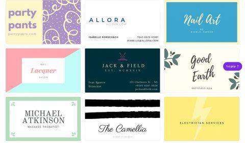 mau namecard dep 02 Thiết kế card visit online, in card visit giá rẻ công ty