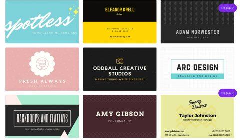 mau namecard dep 03 Thiết kế card visit online, in card visit giá rẻ công ty