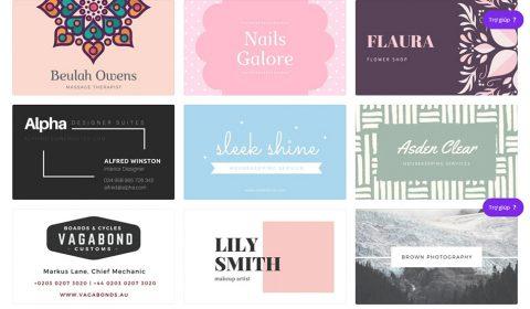 mau namecard dep Thiết kế card visit online, in card visit giá rẻ công ty