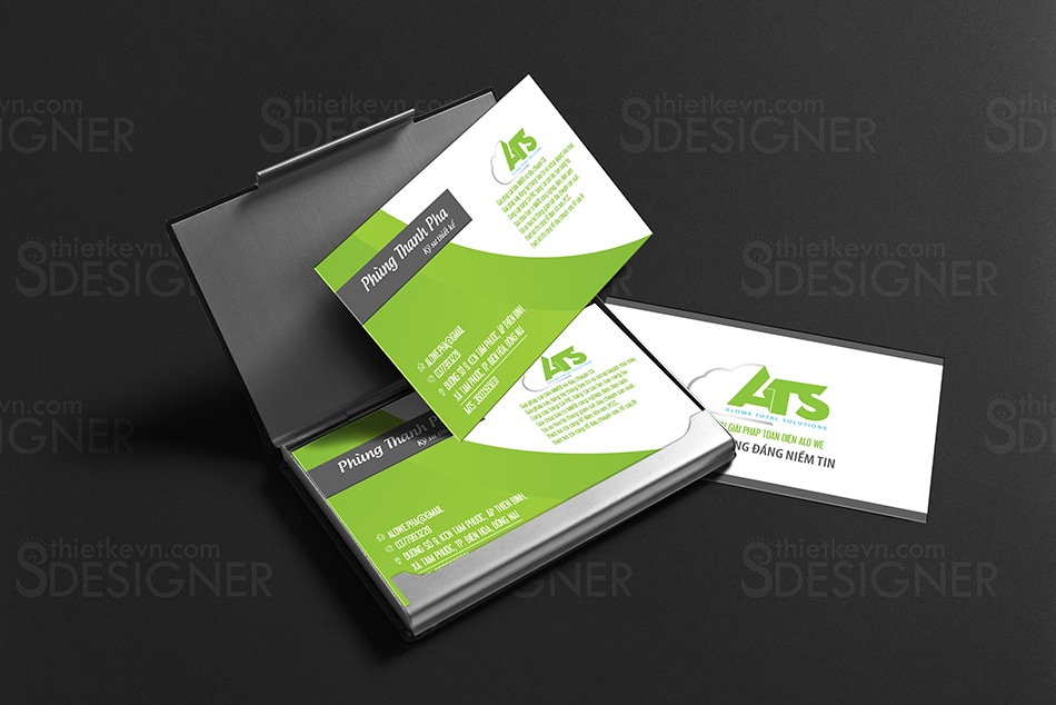 Thiết kế card visit online, in card visit giá rẻ công ty