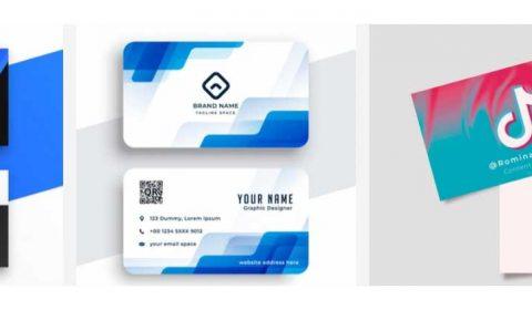 mau thiet ke card 69+ Mẫu name card đẹp của dịch vụ thiết kế card visit online