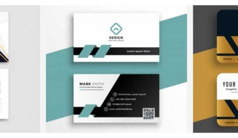 mau thiet ke card chuyen nghiep 69+ Mẫu name card đẹp của dịch vụ thiết kế card visit online