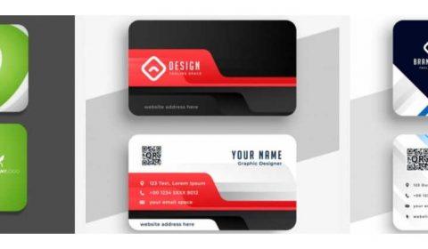 mau thiet ke card cong ty 69+ Mẫu name card đẹp của dịch vụ thiết kế card visit online