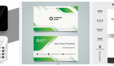 mau thiet ke card dep 69+ Mẫu name card đẹp của dịch vụ thiết kế card visit online