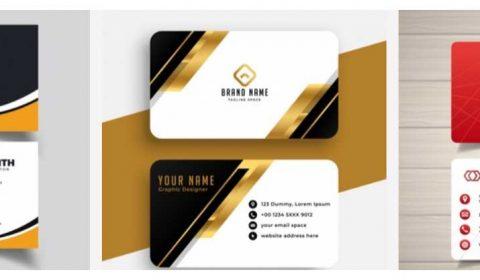 mau thiet ke card gia re 69+ Mẫu name card đẹp của dịch vụ thiết kế card visit online