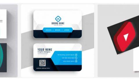 mau thiet ke card visit dep 69+ Mẫu name card đẹp của dịch vụ thiết kế card visit online