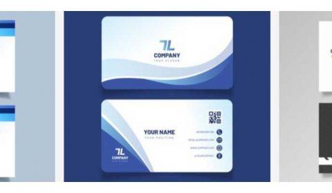 mau thiet ke card visit gia re 69+ Mẫu name card đẹp của dịch vụ thiết kế card visit online