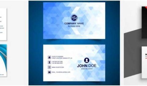 mau thiet ke name card 69+ Mẫu name card đẹp của dịch vụ thiết kế card visit online