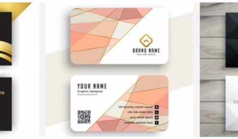 mau thiet ke name card chuyen nghiep 69+ Mẫu name card đẹp của dịch vụ thiết kế card visit online
