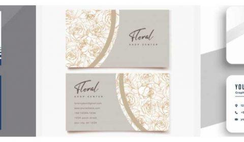 mau thiet ke name card cong ty 69+ Mẫu name card đẹp của dịch vụ thiết kế card visit online