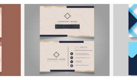 mau thiet ke name card dep 69+ Mẫu name card đẹp của dịch vụ thiết kế card visit online