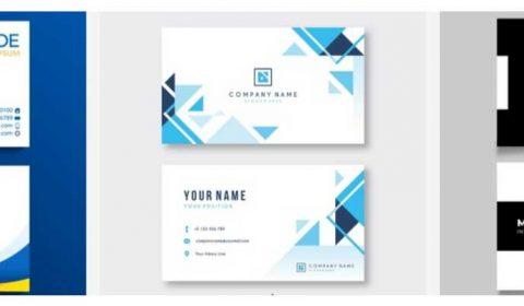 mau thiet ke name card gia re 69+ Mẫu name card đẹp của dịch vụ thiết kế card visit online