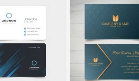 thiet ke card 69+ Mẫu name card đẹp của dịch vụ thiết kế card visit online