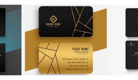 thiet ke card chuyen nghiep 69+ Mẫu name card đẹp của dịch vụ thiết kế card visit online