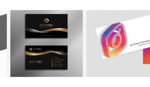 thiet ke card cong ty 69+ Mẫu name card đẹp của dịch vụ thiết kế card visit online