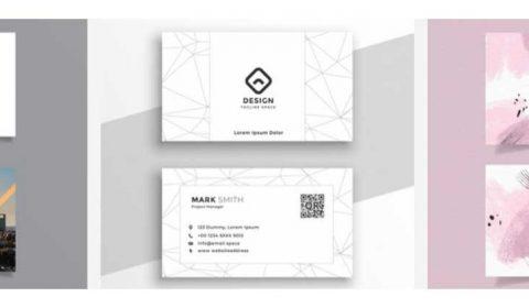 thiet ke card dep 69+ Mẫu name card đẹp của dịch vụ thiết kế card visit online