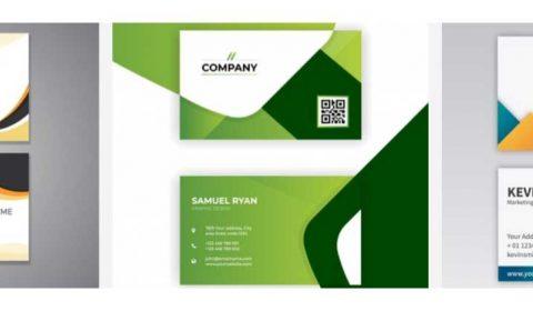 thiet ke card gia re 69+ Mẫu name card đẹp của dịch vụ thiết kế card visit online