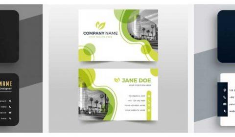 thiet ke card visit 69+ Mẫu name card đẹp của dịch vụ thiết kế card visit online