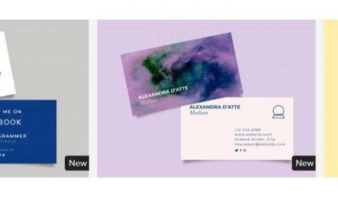 thiet ke card visit chuyen nghiep 69+ Mẫu name card đẹp của dịch vụ thiết kế card visit online