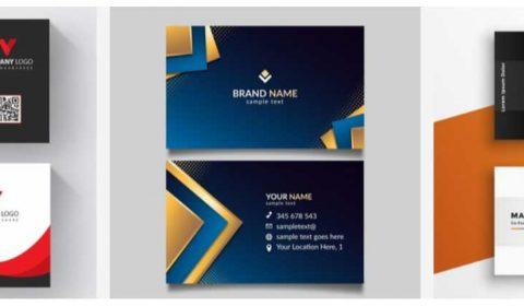 thiet ke card visit cong ty 69+ Mẫu name card đẹp của dịch vụ thiết kế card visit online