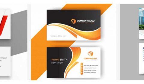 thiet ke card visit online 69+ Mẫu name card đẹp của dịch vụ thiết kế card visit online