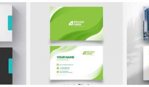 thiet ke name card 69+ Mẫu name card đẹp của dịch vụ thiết kế card visit online