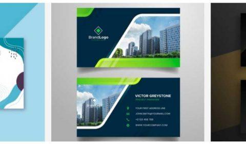 thiet ke name card chuyen nghiep 69+ Mẫu name card đẹp của dịch vụ thiết kế card visit online