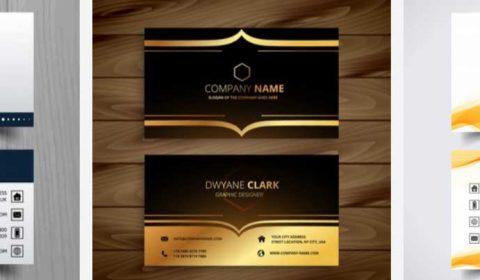 thiet ke name card cong ty 69+ Mẫu name card đẹp của dịch vụ thiết kế card visit online