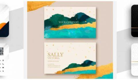 thiet ke name card doanh nghiep 69+ Mẫu name card đẹp của dịch vụ thiết kế card visit online
