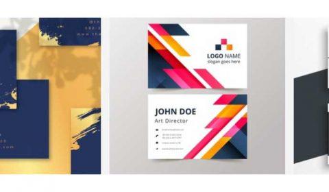 thiet ke name card gia re 69+ Mẫu name card đẹp của dịch vụ thiết kế card visit online