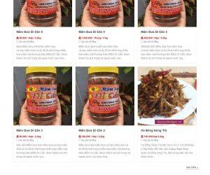 Thiết kế web bán hàng online, web bán đồ ăn #1