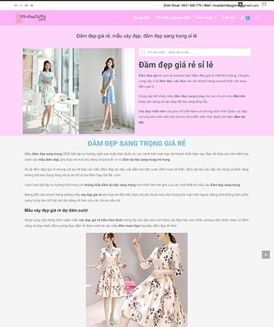 damdepgiare Thiết kế website Quảng Ngãi chuẩn SEO Google